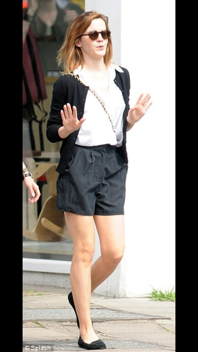 Emma Watson, casual cute outfit