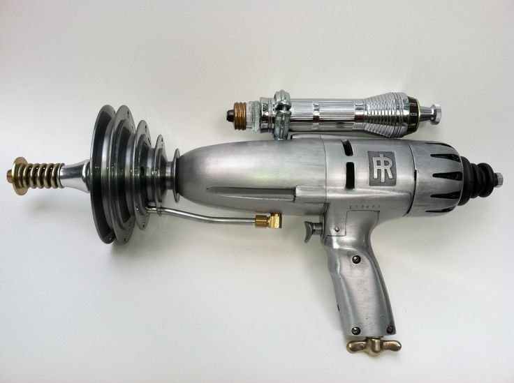 Intergalactic Sci Fi Raygun. LIttle sweetie Q has a copy of this and I told him…