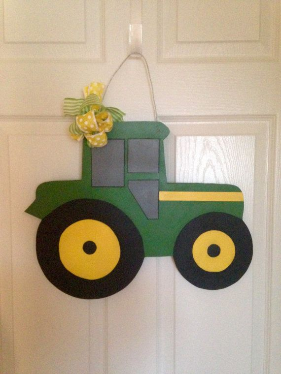 17 Best Images About Tractor Door Hangers On Pinterest