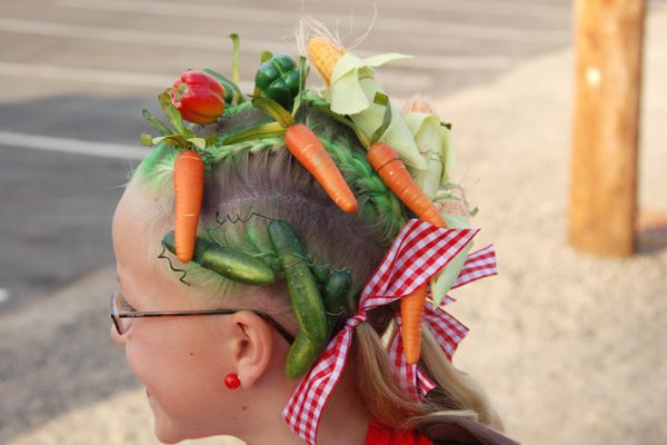 Crazy Hair Day (several ideas that do not need to have color included)