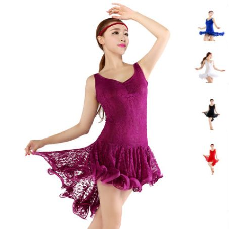 Cheap dresses dress up, Buy Quality dress war directly from China dress up baby dolls Suppliers: High Quality New Sexy Lace Cocktail Ballroom Dance Dress Women / Salsa Latin Dance Dress Women