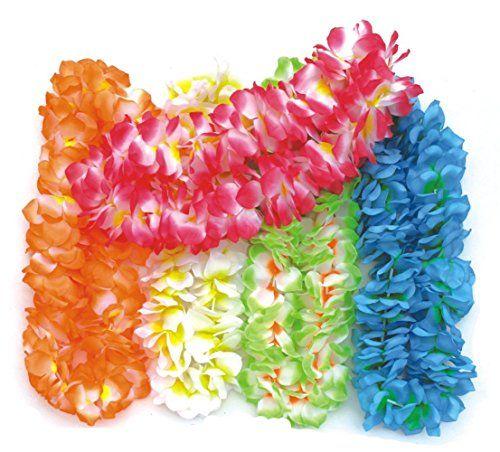 BOSHENG Colorful Luau Flower Leis Necklaces for Tropical ... https://www.amazon.com/dp/B01E32SCK0/ref=cm_sw_r_pi_dp_q15txbF8B1WCQ
