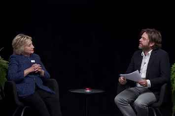 "Hillary Clinton Appeared On ""Between Two Ferns"" And Totally Regretted It. How can I reach you? Email?"