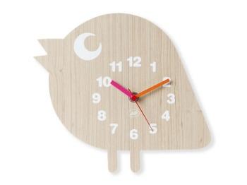 Orologio da parete, ideale nelle camerette dei bimbi! Bird Wood clock available on www.ofeliatuttotorna.com
