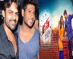 sai dharam tej promoting sandeep kishan's run movie