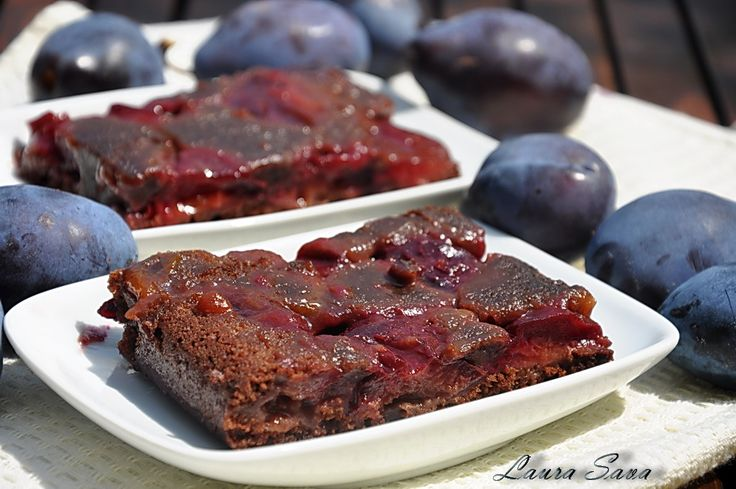 Prajitura de post cu prune