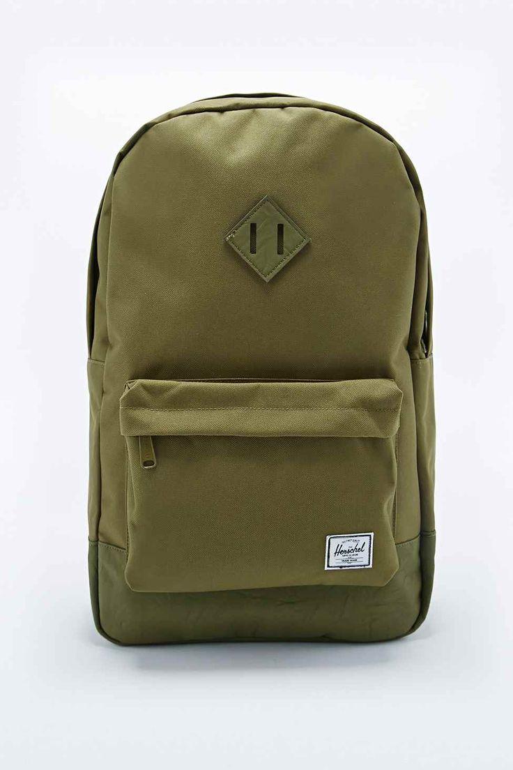 Herschel Heritage Backpack in Army Green  70