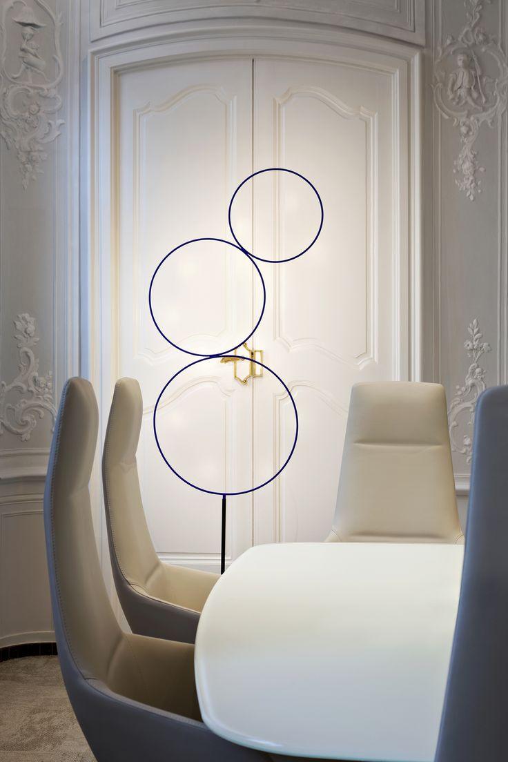 Pipe 3 led suspension lamp decor walther ambientedirect com - Bnp Bank Aix En Provence France