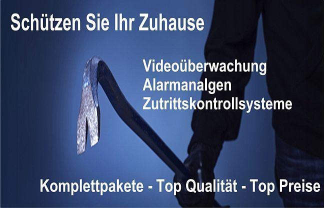 Videoüberwachung - Alarmanlagen - Zutrittskontrollsysteme Top Angebote finden Sie hier ks-hausbau24.de