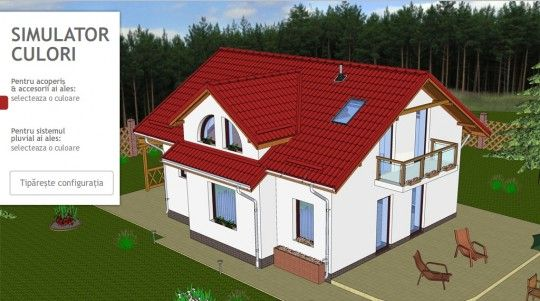 40 best images about house colors with country red roof on for Online house builder simulator