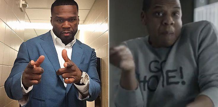 50 Cent Says JAY-Z's '4:44' Album Sounds Like Golf Course Music [VIDEO]: #jayz #50cent