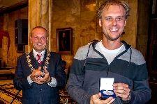 Armin van Buuren uitgeroepen tot ereburger van Leiden.