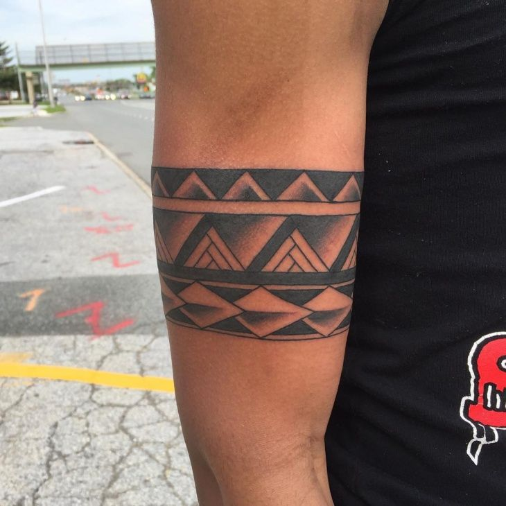Resultado de imagen de polynesian armband tattoos