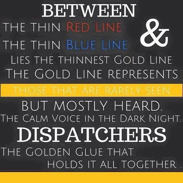 The thin gold line