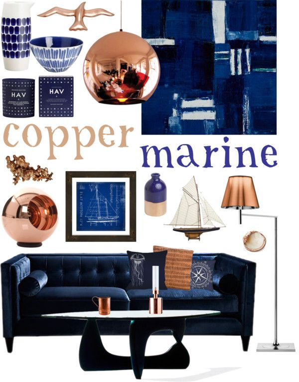 """Copper Marine"" by ladomna on Polyvore"