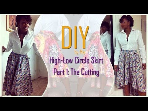 The circle skirt is my ABSOLUTE favorite fashion item to make and one of the ABSOLUTE EASIEST projects you can make yourself and look AMAZING! I've hit it wi...