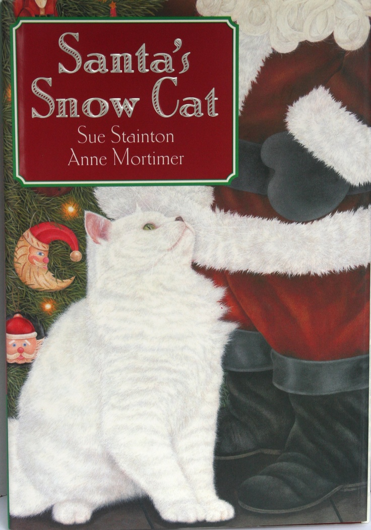 Santa's Snow Cat, written by Sue Stainton