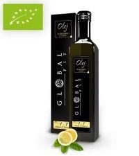 GLOBAL FIT bio olej prozdrowotny virgin  CYTRYNA 500ml sklep ze zdrową żywnością, bio żywność biotojestto.pl