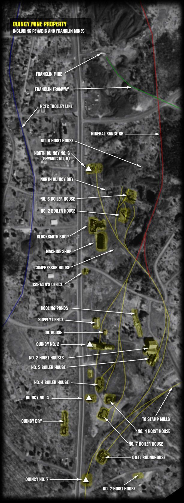 Quincy Mine 55 best CC Maps images