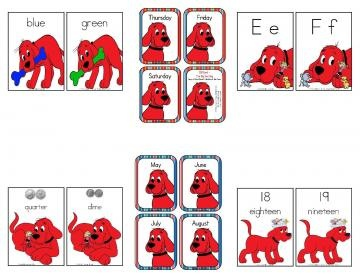 Clifford - The Big Red Dog Printables