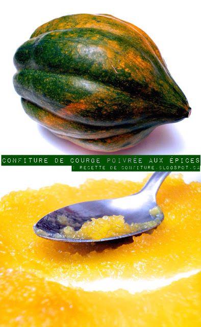 1 recette de confiture: Confiture de Courge Poivrée aux Épices (Anis étoil...