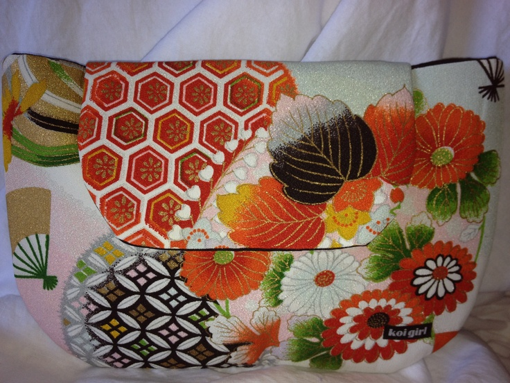 Koi Girl clutch purse  www.koigirl.com.au