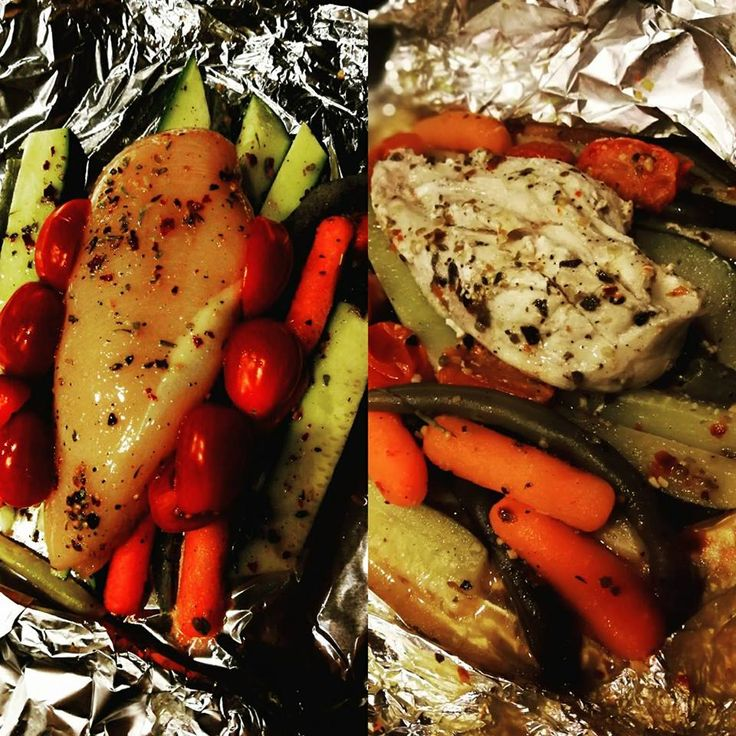 Foil Packet Meals. Super easy and quick