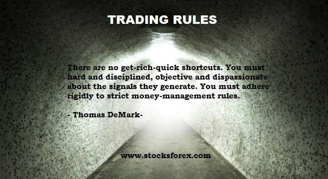Trading rules. Thomas De Mark. Stocksforex.