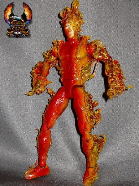 Human Torch (Marvel) Custom Action Figure