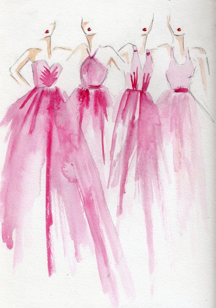 Mejores 16 imágenes de Bridesmaids\' Dresses en Pinterest | Damas de ...
