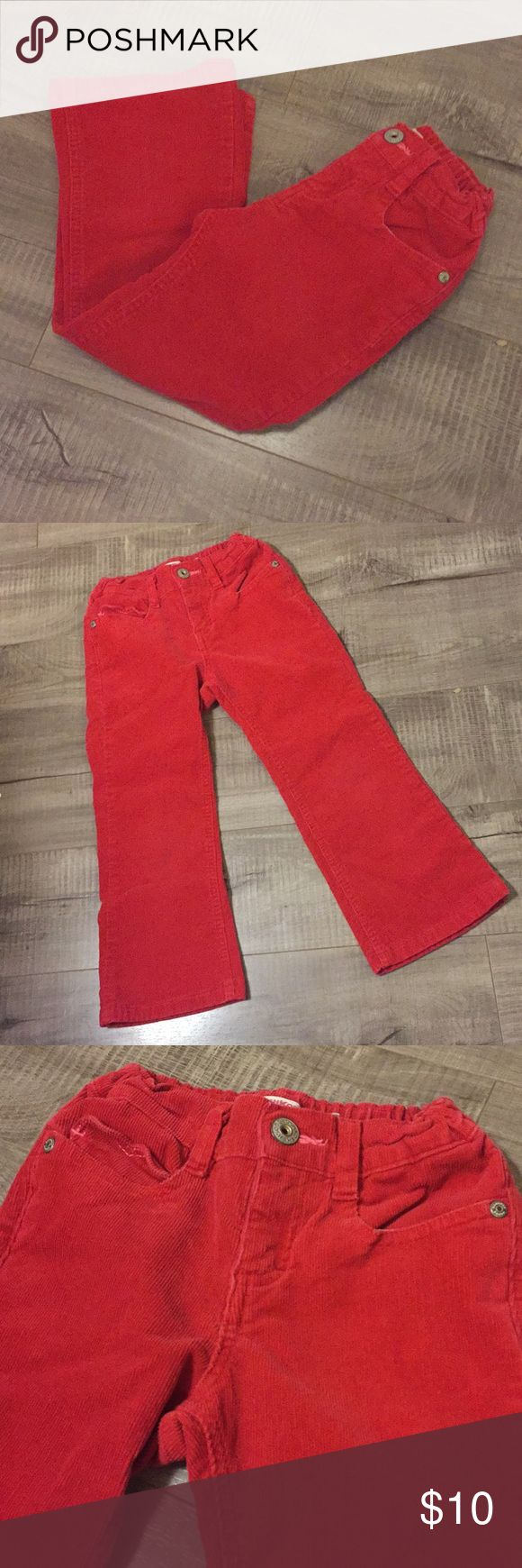 OshKosh Red Corduroy Girls Pants OshKosh B'gosh Red Corduroy Girls Pants Size 6X These pants are in excellent condition, no Stains, holes or fading  Bundle to save 20% & more! I always ship in 1-2 days ❤️❤️ OshKosh B'gosh Bottoms