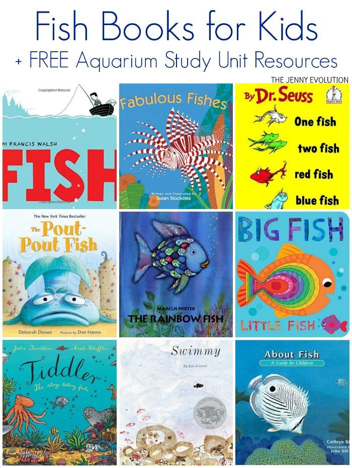fish books for kids - Kid Free Books