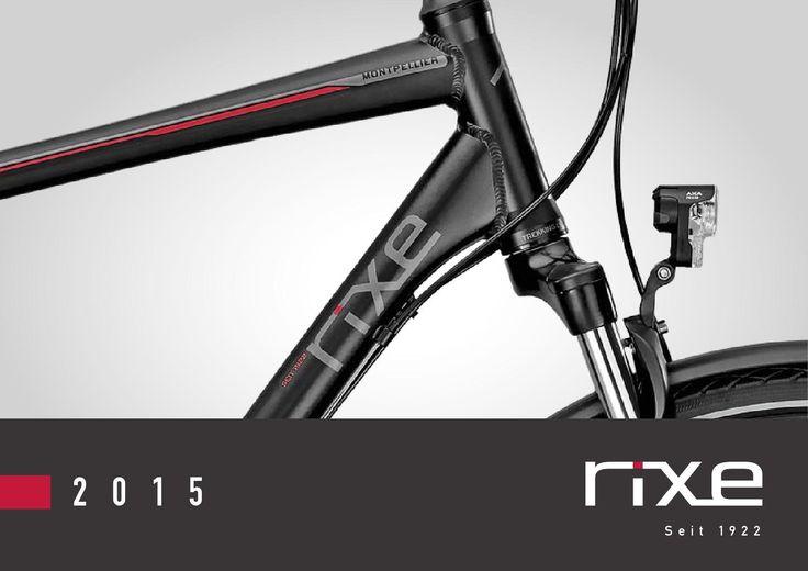 Rixe Modelle 2015  Alle Fahrräder und E-Bikes von der Traditionsmarke aus dem Hause Derby Cycle. Rixe - exclusiv erhältlich bei ZEG Fachhändlern..