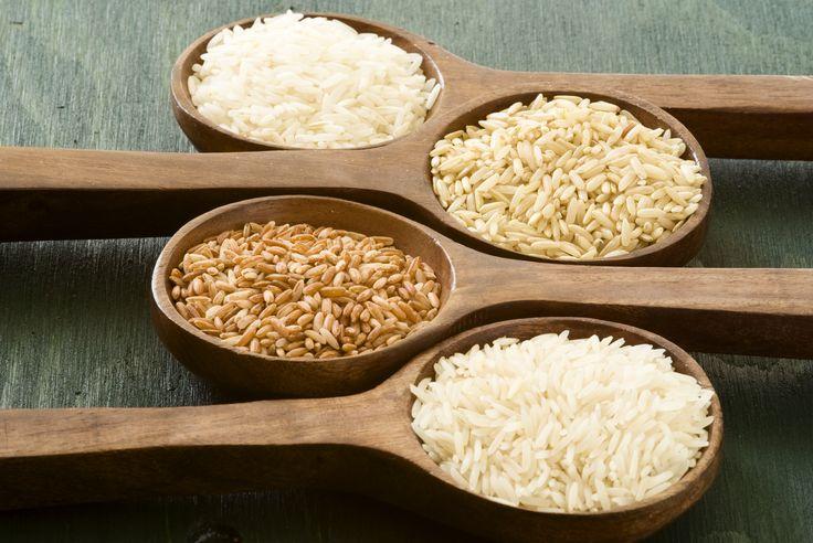 Dieta del riso: tipi di riso