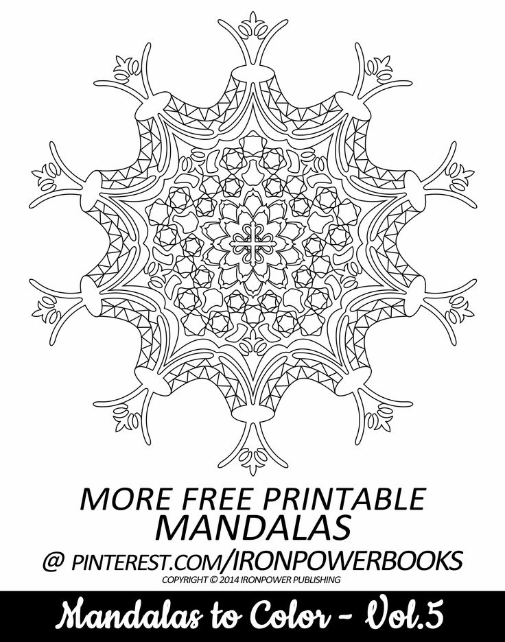 140 best Coloring  IPower images on Pinterest  Mandalas