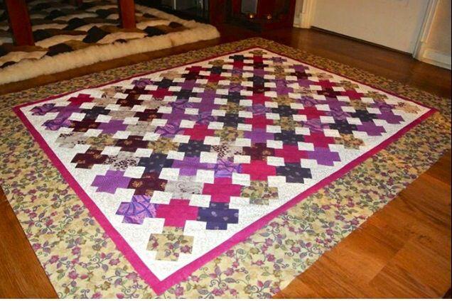 Quilts tonos morados