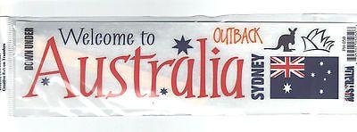 Reminisce RUB-ON Transfer Sheet-AUSTRALIA scrapbooking