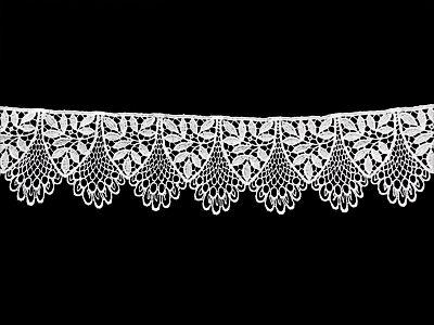 Diese Spitzenborten aus Plauener Spitze Meterware ist ein echter Renner nicht nur für Brautmode und Hochzeitskleider. Weisse, schwarze Borten aus Baumwolle aus Viskose oder Polyester bestellen Sie hier im Online Shop Spitzenstuebl günstig.
