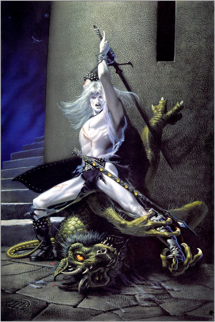 Michael Whelan Doing Michael Moorcock's Elric Of Melnibone