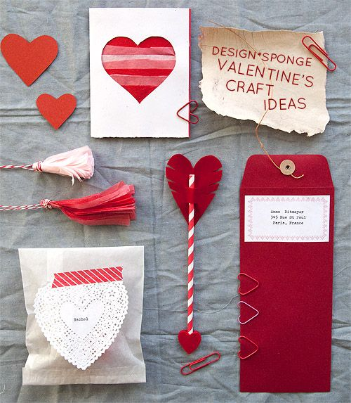 D*S Valentine's Craft Ideas from our craft breakfast party! #diy #valentines
