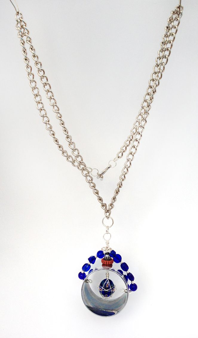 bead and ring necklace