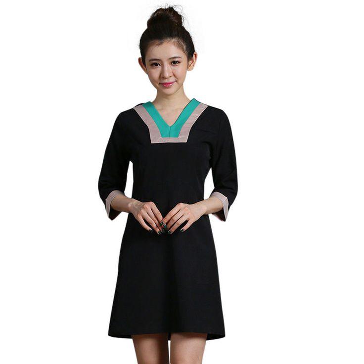 Best 25 work uniforms ideas on pinterest business wear for Spa uniform fashion