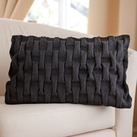 Dunhelm Mill Lattice Cushion £14.99
