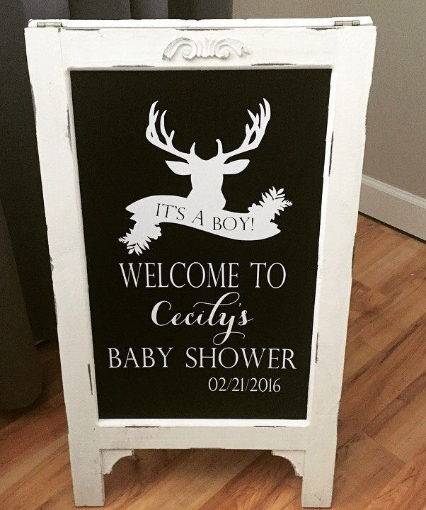 20 Best Deer Baby Shower Images On Pinterest