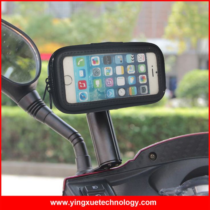 >> Click to Buy << Scooter Mirror Mount Motorcycle Rear View Mirror Cell Phone Mount Holder Water Resistance Case for Mobile Phones #Affiliate