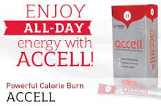 """Discover the joy of healthy, balanced energy and vitality! Optimize your body's ability to burn calories by targeting the three pillars of weight loss - plus a bonus energy boost. Just one packet of Accell enhances your metabolism, digestion, energy and alertness. Accell ensures just the right amount of boost without the synthetic ingredients and """"crash and burn"""" effect you get from soda and most energy drinks. Contact Verve Life on info@vervelife.co... for more information."""