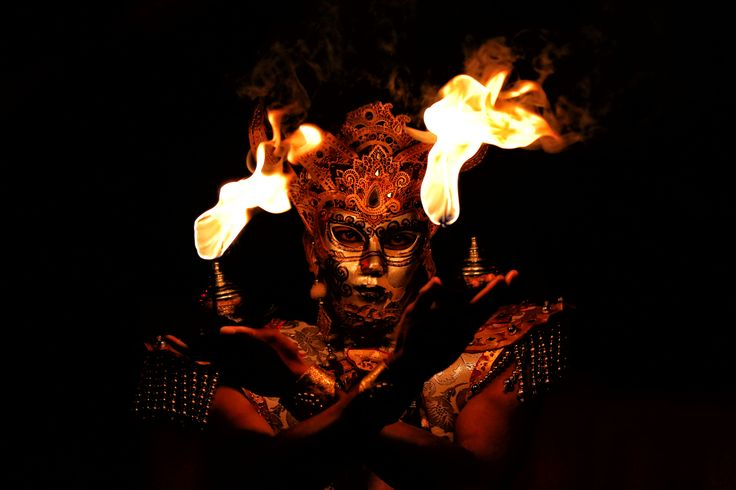 ...and it was closed with none other than the mystical of the Fire Dance.
