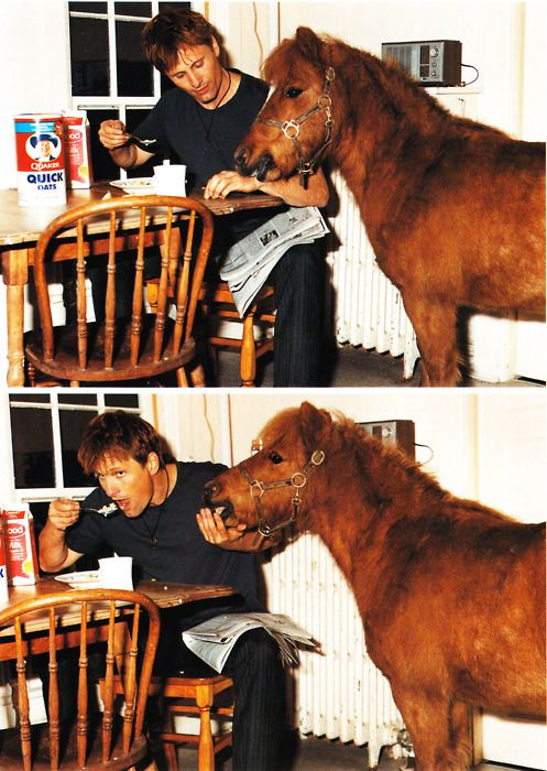 Viggo and a pony. Your argument is invalid.