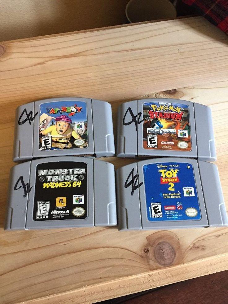 Nintendo 64 Lot Toy Story 2, Pokémon Stadium, Paper Boy, Monster Truck Madness  | eBay