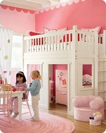 Fabulous little girl's room by Pottery barn